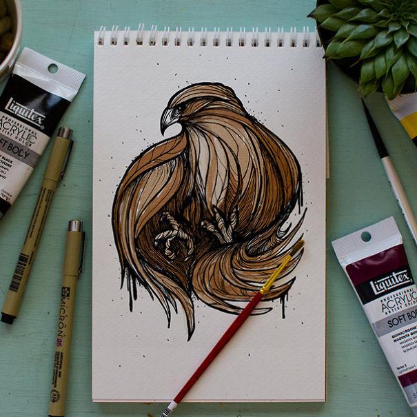 Designer-Draws-One-Animal-Per-Day-for-Newborn-Son1__605